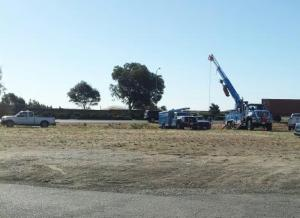 PG & E crews install new equipment for the SPCA of Solano County Spay/Neuter clinic.