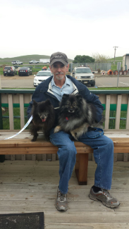 Gray and his new family
