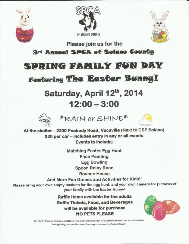 Spring Family Fun Day